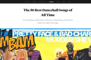 Editing Pitchfork's '50 Best Dancehall Songs of All Time' List (Updated)